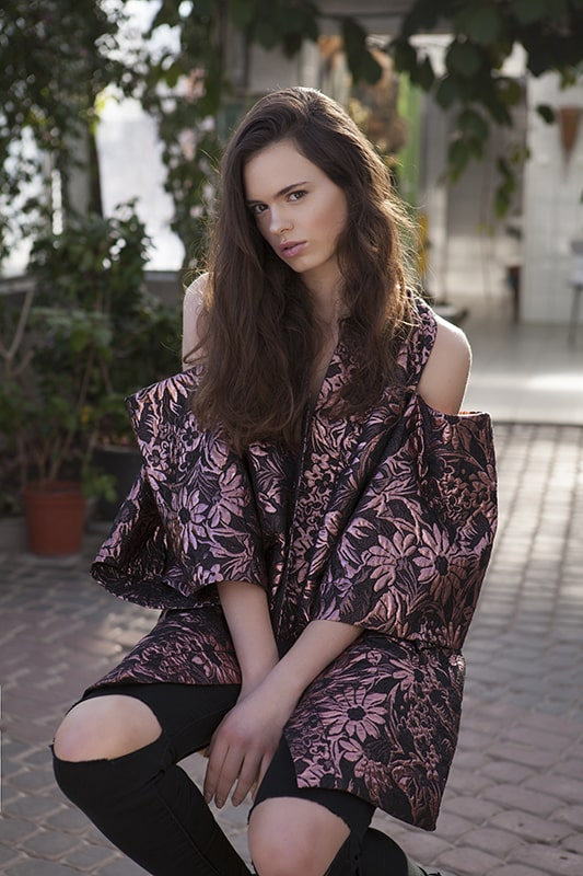 Monika Dembińska - Gardenium Joanna Hawrot Lookbook