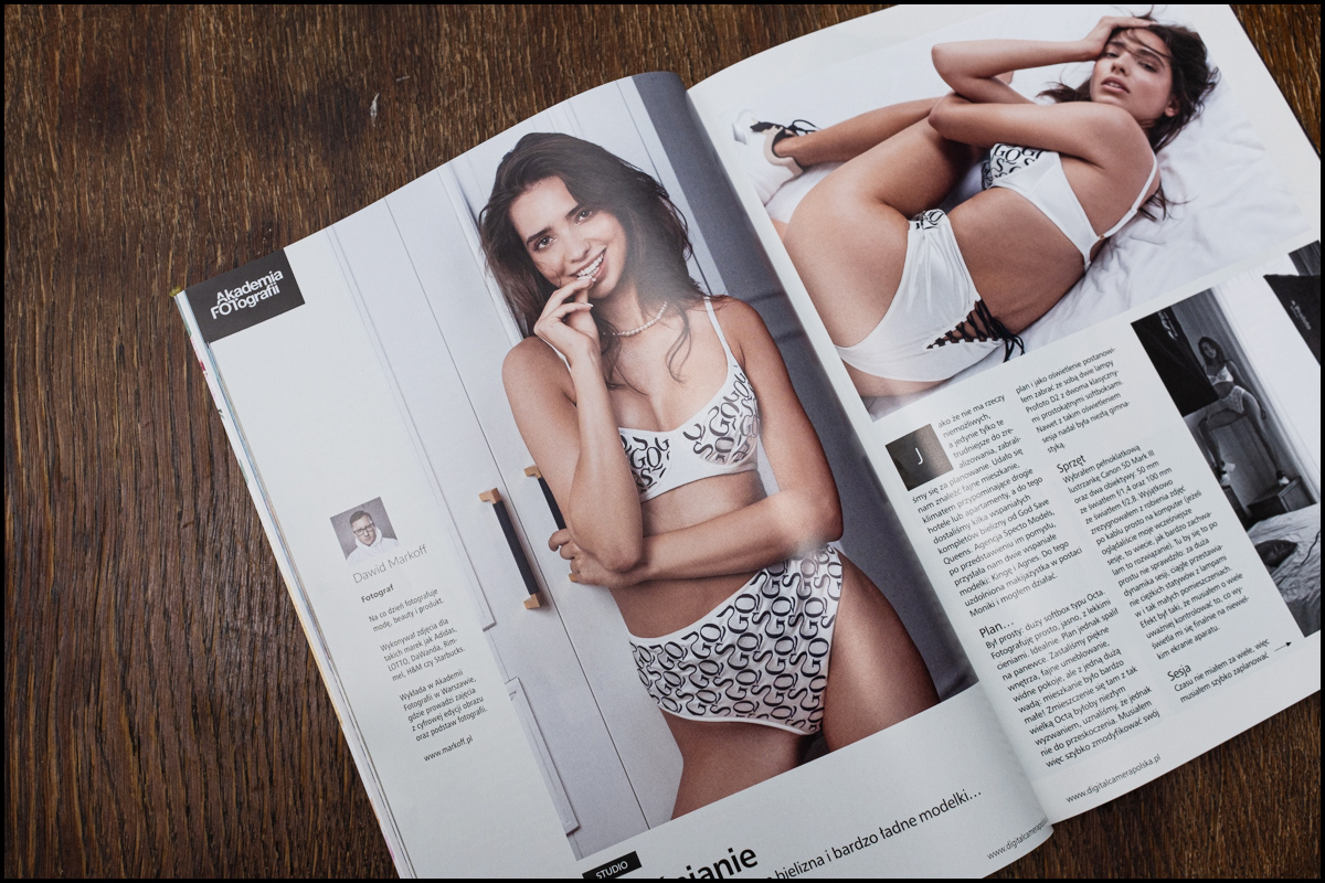 Monika Dembińska - Magazyn listopadowy 2019 Digital Camera Polska